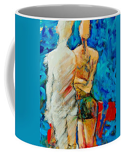 About Feeling Invisible Coffee Mug by Jean Cormier