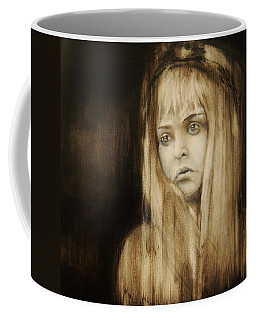 About Saying Good Bye Coffee Mug by Jean Cormier