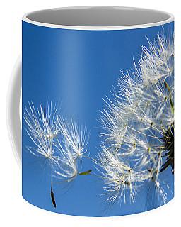 About To Leave - Dandelion Seeds Coffee Mug