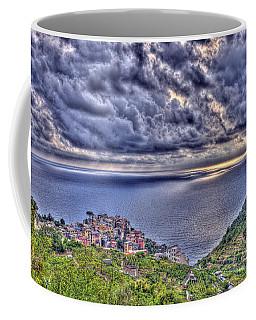 Above Corniglia Coffee Mug