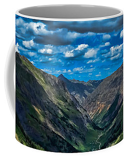 Coffee Mug featuring the photograph Above It All by Don Schwartz