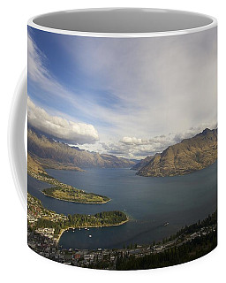 Above Queenstown #2 Coffee Mug by Stuart Litoff