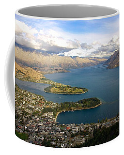 Above Queenstown Coffee Mug by Stuart Litoff