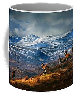 Above Strathglass Coffee Mug