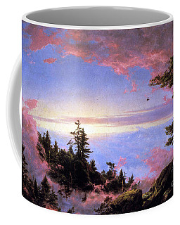 Above The Clouds At Sunrise By Frederick Edwin Church Coffee Mug