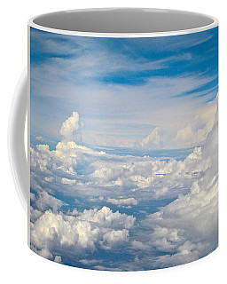 Above The Clouds Over Texas Image B Coffee Mug