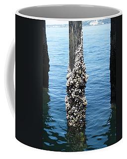 Above The Line Coffee Mug by David Trotter