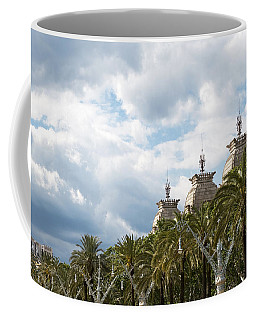 Coffee Mug featuring the photograph Above The Trees Of Parc De La Ciutadella by Lorraine Devon Wilke
