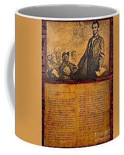 Abraham Lincoln The Gettysburg Address Coffee Mug