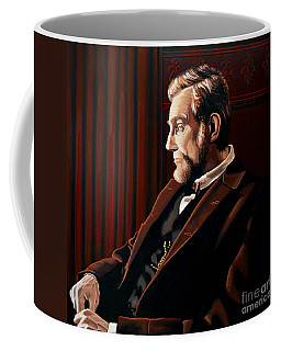 Abraham Lincoln By Daniel Day-lewis Coffee Mug