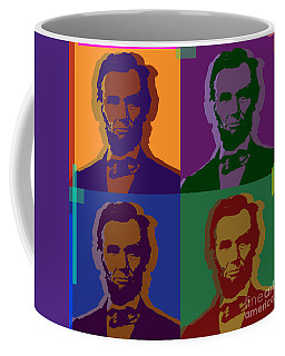 Abraham Lincoln Coffee Mug by Jean luc Comperat
