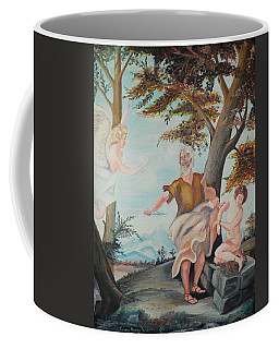 Coffee Mug featuring the photograph Abraham by Nick Kirby