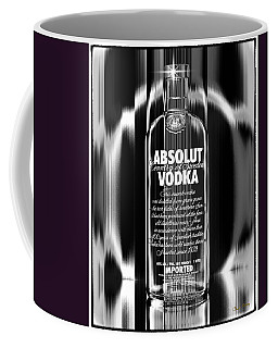 Absolut Black And White Coffee Mug