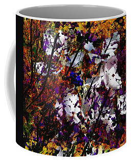 Coffee Mug featuring the digital art Abstract-1 by David Blank