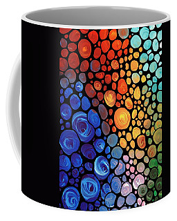 Abstract 1 - Colorful Mosaic Art - Sharon Cummings Coffee Mug
