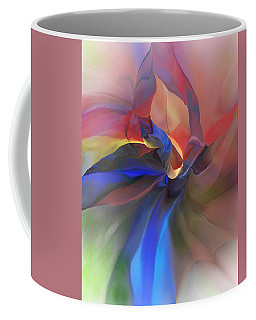 Coffee Mug featuring the digital art Abstract 121214 by David Lane