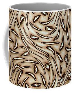 Abstract Aluminum Coffee Mug by Bill Kesler
