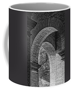 Abstract Arches Colosseum Mono Coffee Mug