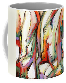 Abstract Art Forty-six Coffee Mug by Lynne Taetzsch