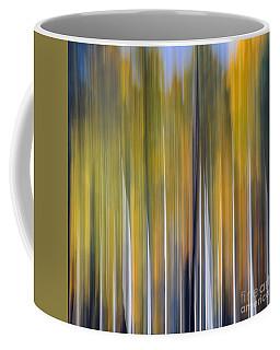 Abstract Aspens Coffee Mug by Tamara Becker