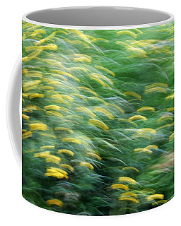 Abstract Blurred Flower Meadow In Spring Coffee Mug