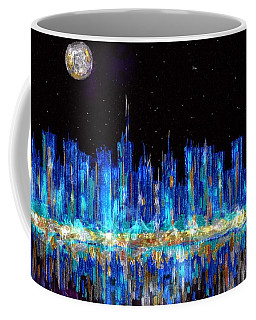 Abstract City Skyline Coffee Mug