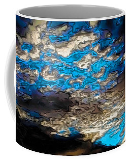 Abstract Clouds Coffee Mug by Claudia Ellis