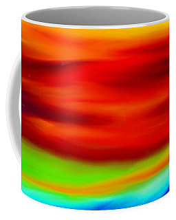 Abstract Colors Coffee Mug by Anita Lewis