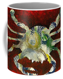 Abstract Crab Coffee Mug
