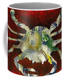 Abstract Crab Coffee Mug