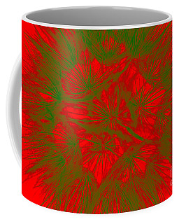 Coffee Mug featuring the photograph Abstract Dandelion Bloom by Mae Wertz