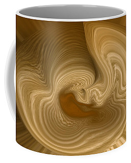 Coffee Mug featuring the photograph Abstract Design by Charles Beeler