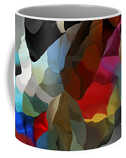Coffee Mug featuring the digital art Abstract Distraction by David Lane