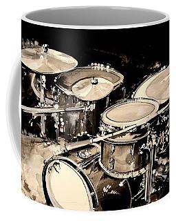 Abstract Drum Set Coffee Mug