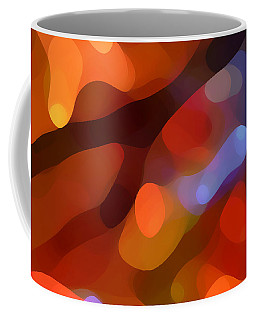 Abstract Fall Light Coffee Mug