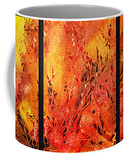 Abstract Fireplace Coffee Mug