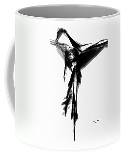 Abstract Flamenco Coffee Mug