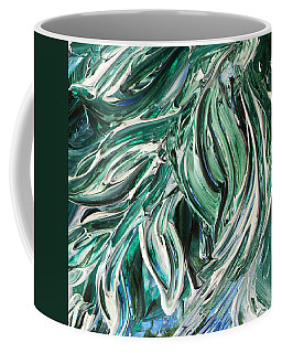 Abstract Floral Tickling Breeze Coffee Mug