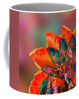 Abstract Flower Coffee Mug by Klara Acel