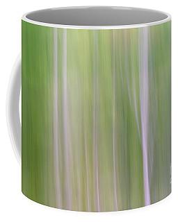 Abstract Forest Coffee Mug by Tamara Becker