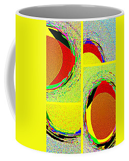 Coffee Mug featuring the digital art Abstract Fusion 199 by Will Borden