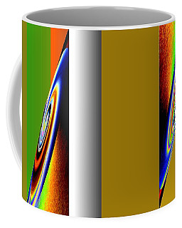 Coffee Mug featuring the digital art Abstract Fusion 211 by Will Borden