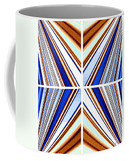 Coffee Mug featuring the digital art Abstract Fusion 236 by Will Borden