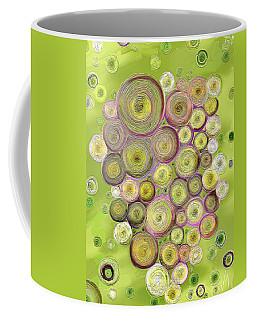 Abstract Grapes Coffee Mug