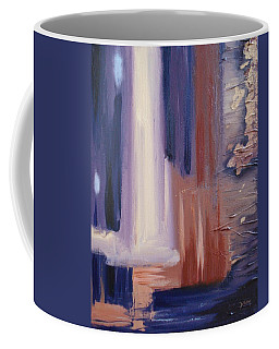 Coffee Mug featuring the painting Abstract I by Donna Tuten