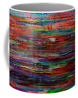 Abstract In Reflection Coffee Mug
