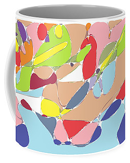 Abstract Coffee Mug by Keshava Shukla
