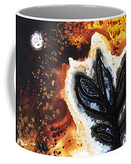 Abstract Landscape Art - New Growth - By Sharon Cummings Coffee Mug