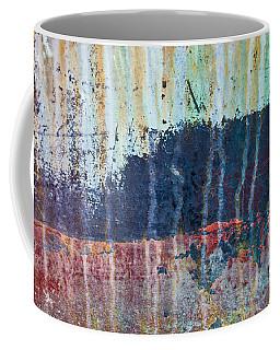 Abstract Landscape Coffee Mug by Jani Freimann
