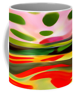 Abstract Landscape Of Happiness Coffee Mug